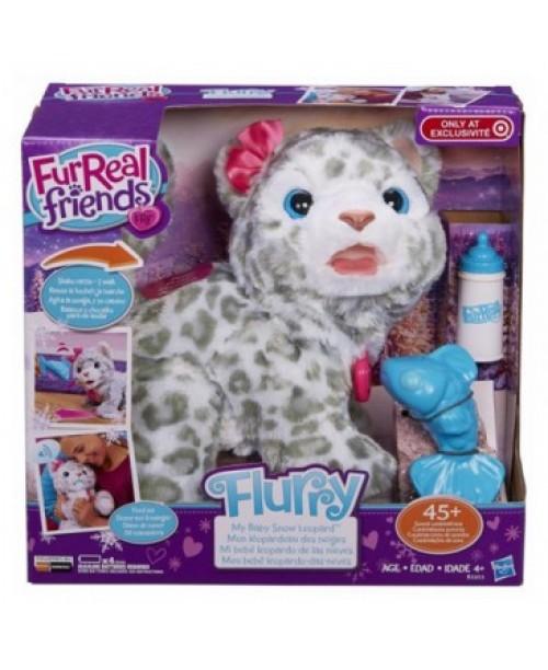 FurReal Friends Мой первый снежный барс интерактивный Hasbro B2953