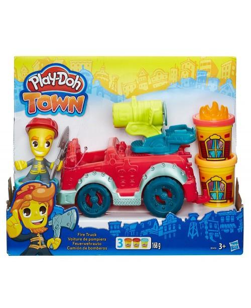 PLAY-DOH TOWN Игровой набор Пожарная машина Hasbro B3416