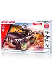 Конструктор Меккано Набор Раллийная машина (25 моделей) Meccano 91776