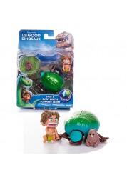 Маленькая подвижная фигурка Спот и Жук Good Dinosaur Хороший Динозавр