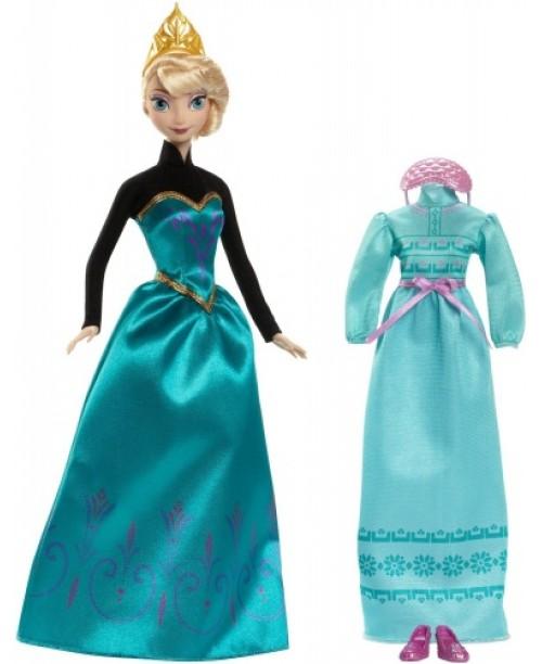 """Disney Princess. Кукла Эльза """"Холодное Сердце"""", в наборе с аксессуарами"""