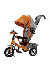 "Велосипед трехколесный Power Race (10""/8""), оранжевый Trike JP7YR"