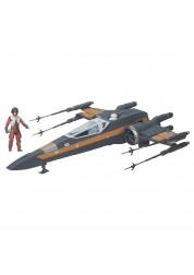 Космический корабль Star Wars X-Wing с фигуркой По Дамерона B3953H