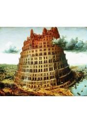 Картина Вавилонская Башня, 40*50 см Раскраски по номерам (PB) Q199