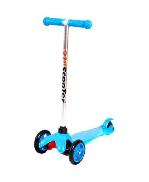 21st Scooter голубой cамокат 3-х колёсный Mini Scooter SKL-06ALB