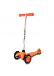 21st Scooter оранжевый самокат 3-х колёсный Mini Scooter SKL-06ALO
