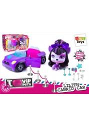 Игровой набор Vip Pets - Машина с собакой Лилит и аксессуарами 1180921