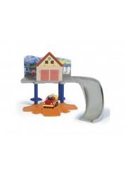 """""""Пожарный Сэм"""" Игровой набор - Пожарный гараж с машинкой Dickie 305476"""