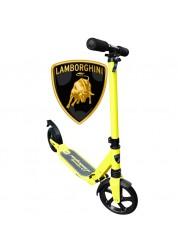 Самокат Lamborghini LS1Y, PU-200мм, желтый