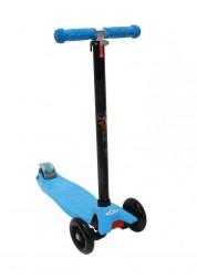 Самокат трехколесный Maxi голубой Zondo ZMA-SB