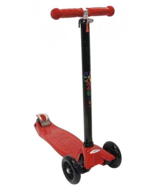 Самокат трехколесный Maxi красный Zondo ZMA-R