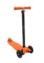 Самокат трехколесный Maxi оранжевый Zondo ZMA-O