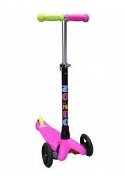 Самокат трехколесный MINI Plus, розовый Zondo ZMIP-P