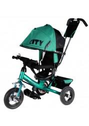 """Велосипед 3-х колесный City (10""""/8""""), зеленый Trike JW7G"""