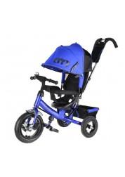 """Велосипед 3-х колесный City New (12""""/10""""), синий Trike JW7BB"""