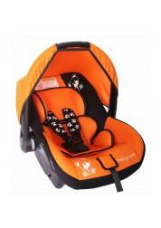 """Детское оранжевое автомобильное кресло """"Мишка"""", груп.0+, 0-13 кг Baby Care BC-321LUX"""