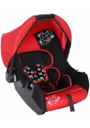 """Детское красное автомобильное кресло Люкс, """"Слоник"""", груп.0+, 0-13 кг Baby Care BC-322LUX"""