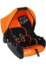 """Детское оранжевое автомобильное кресло Люкс, """"Слоник"""", груп.0+, 0-13 кг Baby Care BC-322LUX"""