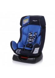 """Детское синее автомобильное кресло Люкс,""""Тигрёнок"""" груп.0+/1/2, 0-25 кг Baby Care BC-719LUX"""