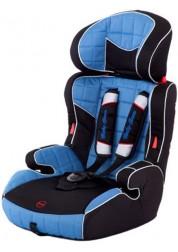 Автокресло Grand Voyager (9-36кг) (Blue/Black) Baby Care S205
