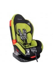 """Детское зеленое автомобильное кресло Люкс, """"Леопардик"""" Baby Care BC-02LUX"""