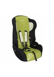 """Детское зеленое автомобильное кресло Люкс,""""Жирафик"""" Baby Care BC-513LUX"""