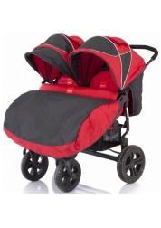 Коляска для двойни Baby Care Cruze DUO (Red)
