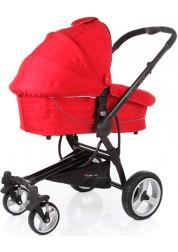 Коляска Suprim (Suprim Solo + люлька), (Red) Baby Care C 300