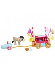 Игровой мини-набор Кренки Дудл и тележка для праздника My Little Pony Hasbro B3597