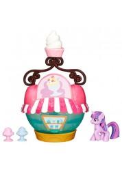 Игровой мини-набор Твайлайт Спаркл и кафе-мороженое My Little Pony Hasbro B3597