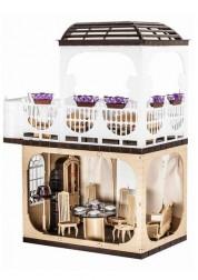 Кукольный бежевый домик Коллекция ОГ1293
