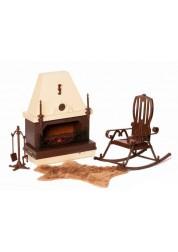 Набор игрушечной мебели Коллекция для каминной комнаты ОГ1301