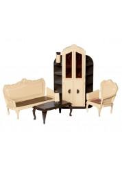 Набор кукольной мебели для гостиной Коллекция ОГ1299