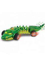Машинка Аллигатор, зеленая (свет, звук), 32 см Hot Wheels HW90731