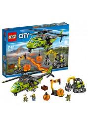 Конструктор LEGO City - Грузовой вертолёт исследователей вулканов, Lego 60123