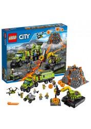 Конструктор LEGO City - База исследователей вулканов, Lego 60124-L