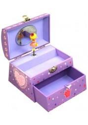 Музыкальная куполообразная детская шкатулка, в ассортименте, Jakos, 624000