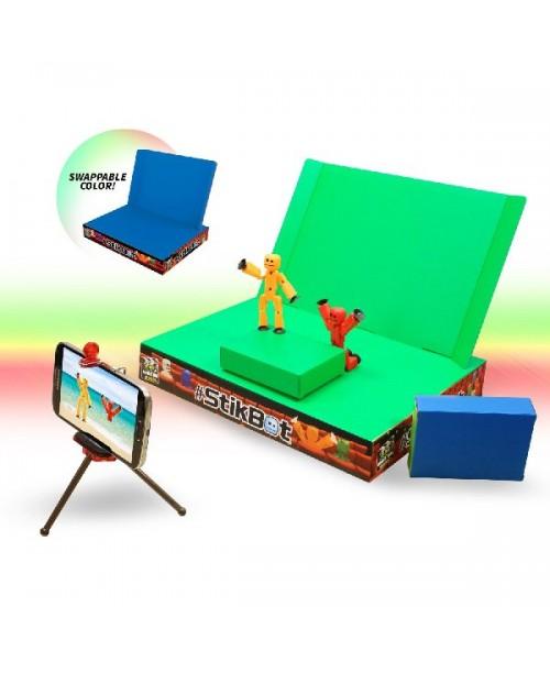 Набор - Анимационная студия Stikbot со сценой, Zing, TST617