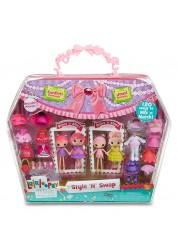 Лалалупси Набор Mini с двумя куклами и аксессуарами, в ассортименте Lalaloopsy 539643