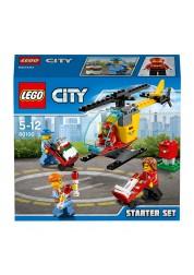Конструктор LEGO City - Набор для начинающих «Аэропорт», Lego, 60100