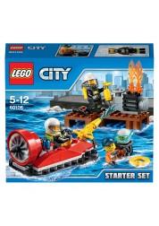 Конструктор LEGO City - Набор для начинающих «Пожарная охрана», Lego, 60106