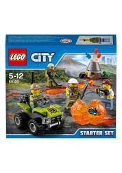Конструктор LEGO City - Набор для начинающих «Исследователи Вулканов», Lego, 60120-L