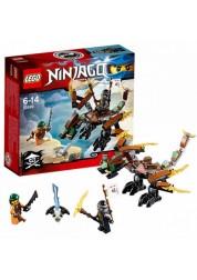 Конструктор из серии Нинзяго - Дракон Коула Lego, 70599