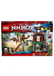Конструктор из серии Нинзяго - Остров тигриных вдов Lego, 70604