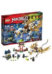 Конструктор из серии Нинзяго - Дракон Сэнсэя Ву Lego, 70734