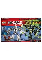 Конструктор из серии Нинзяго - Битва механических роботов Lego, 70737
