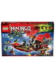 Конструктор из серии Нинзяго - Корабль Дар Судьбы, Решающая битва Lego, 70738