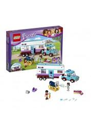Конструктор из серии Подружки - Ветеринарная машина для лошадок Lego, 41125-L