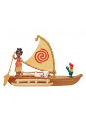 Disney Princess Моана Игровой набор Моана в лодке с Пуа и Хей Хей Hasbro B8302