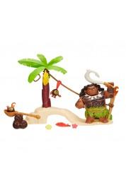 Disney Princess Моана Игровой набор Мауи встречает Какаморас на острове Hasbro B8302